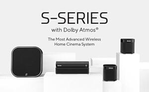 Dolby Atmos Kabellose Heimkino: Damson S Series schwarz