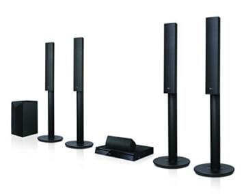 LG LHA755 5.1 3D Blu-ray Heimkinosystem