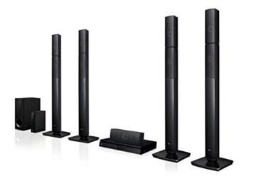 LG LHB655NW Heimkinosystem mit kabellosem Rear-Lautsprecher