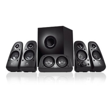 Logitech Z506 5.1 150 Watt Lautsprechersystem schwarz