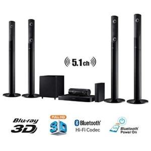 Samsung HT-J5550W 5.1 3D Blu-Ray Heimkinosystem 1000 W